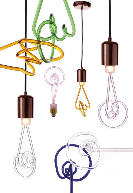 Lampade Kundalini Le Nuove Forme Illuminanti : Twist lamp di seletti un pieno luce arredo e