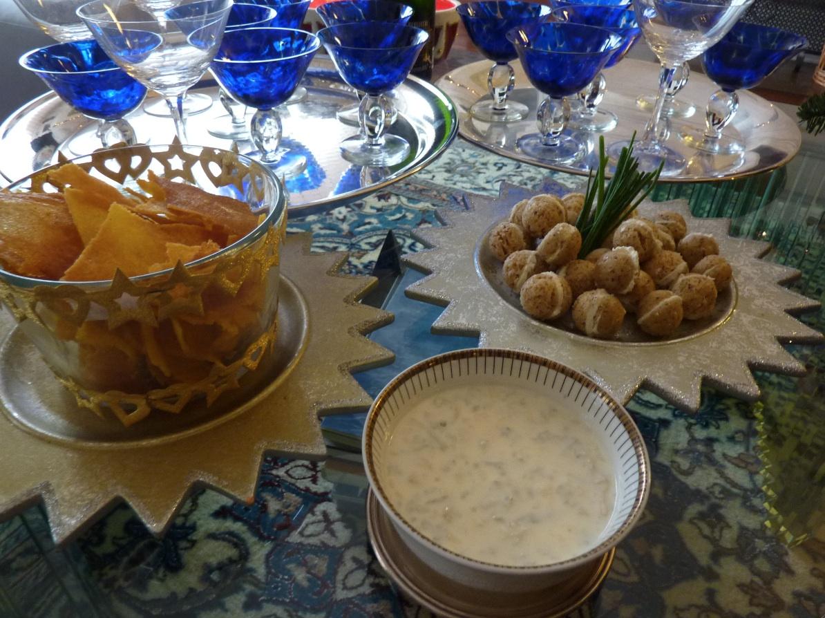 Baci di dama e chips di polenta croccante da arredoeconvivio