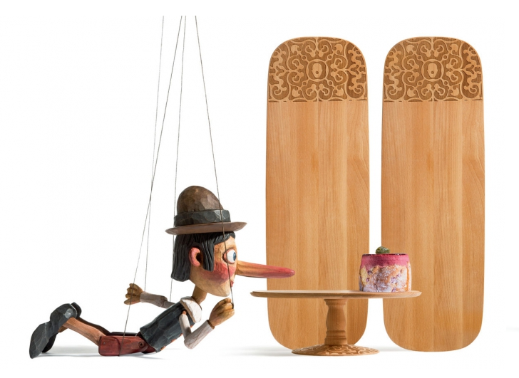 Dressed e Dressed in Wood By Marcel Wanders per Alessi
