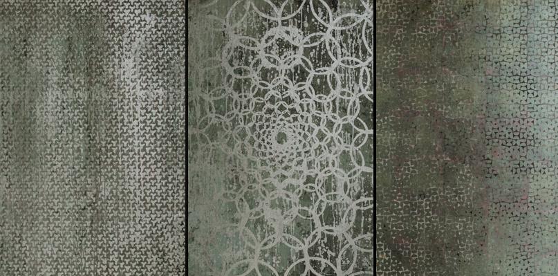 Nicolas Galtier Tecniche miste su tele 100 x 100cm1