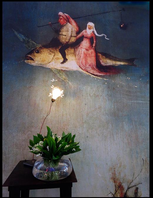 Ingo Maurer lamp - I Ricchi Poveri - Five Butterflies