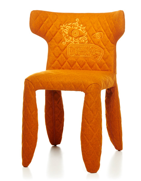 Monster Chair Divina by Marcel Wanders per Moooi Milan 2015