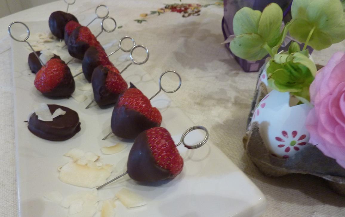 fragole con cioccolata by arredoeconvivio