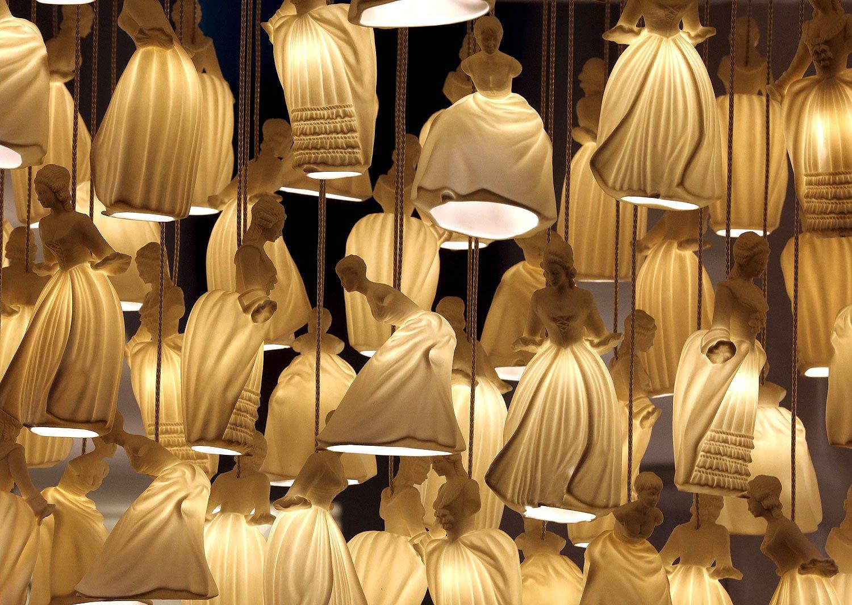 Dame lampade  Carlesso