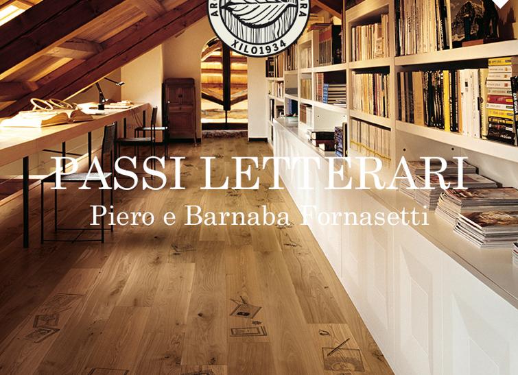 Passi Letterari:  Piero e Barnaba Fornasetti  XILO1934