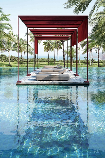 Phuket, Thailand --- View of swimming pool in resort --- Image by © Jae-cheol Oh/Sung-Il Kim/Corbis