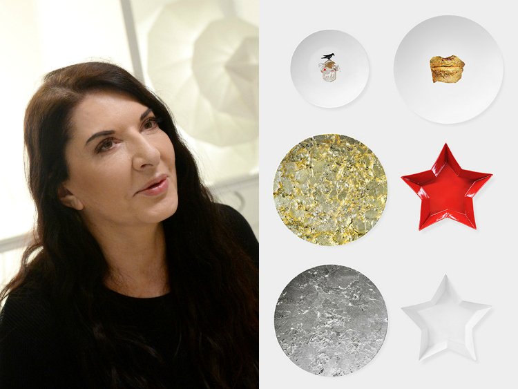 """Misfits for the table"" Marina Abramovic per Bernardaud"