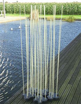 Reeds design Klaus Begasse per Artemide