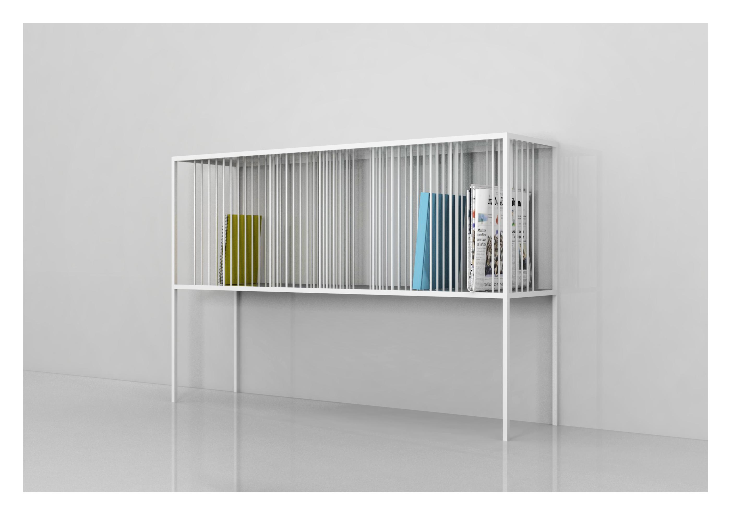 Libreria Millerighe di DAA Design - Marta Laudani, Marco Romanelli, con Stefano Ragazzo