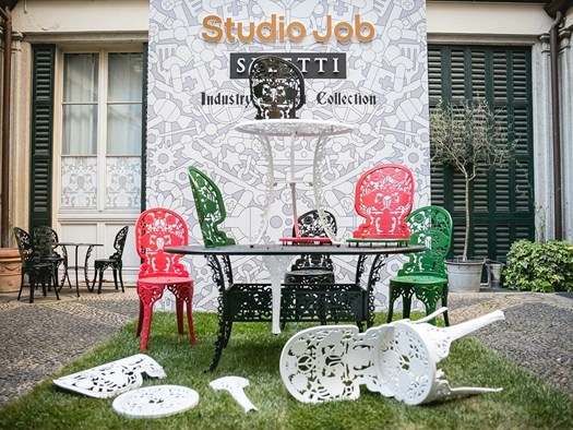 studio Job per Seletti Industry Garden Collection