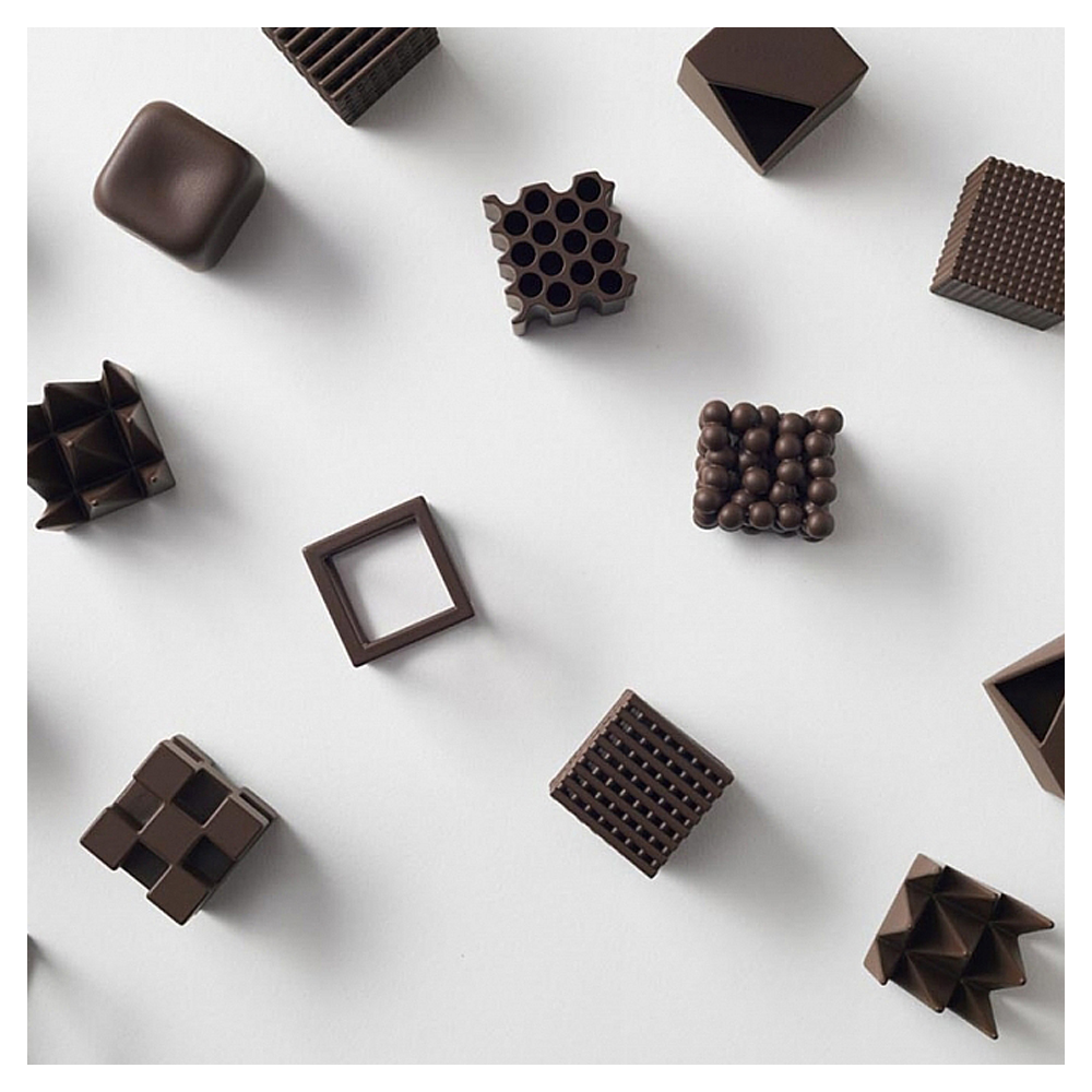 Nendo – Chocolatexture