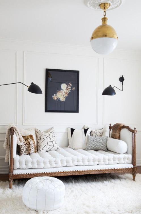 panchetta letto divano antico