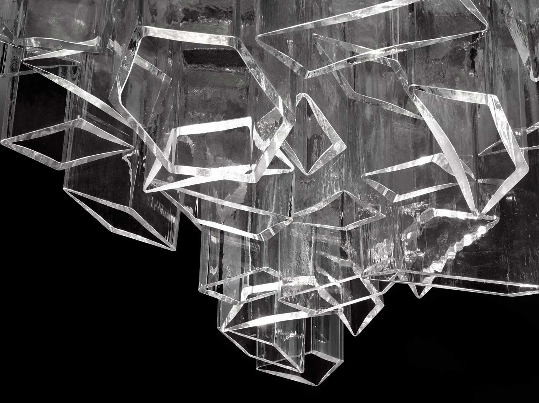 Chandelier ICE di Daniel Libeskind Image © Lasvit