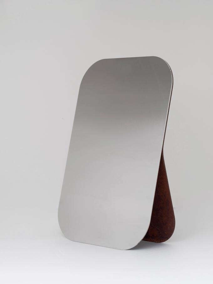 SOTTOSOPRA / specchio corten- GumDesign