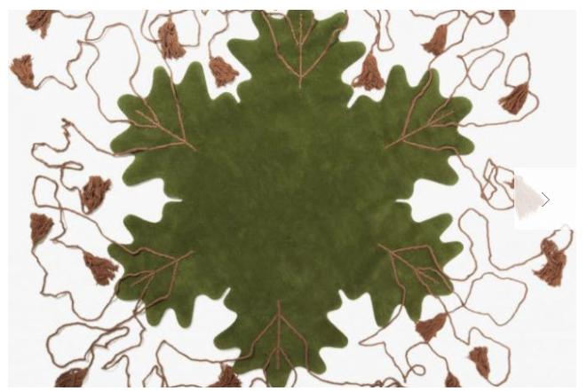 Big Leaf Matali Crassett per Nodus Rug