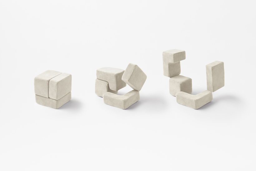 Cubic Pet Goods di Nendo