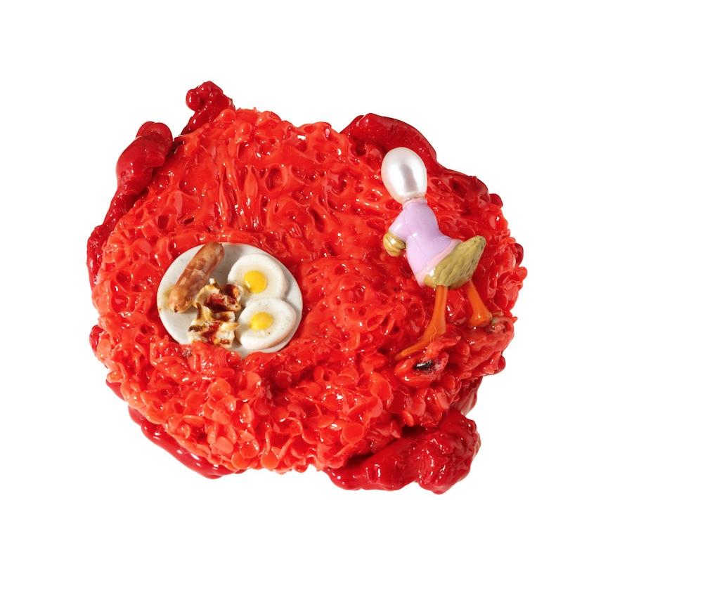 """Blob spilla titolo """"ma dove son finite le mie uova ?"""" 2012 di Barbara Uderzo"""