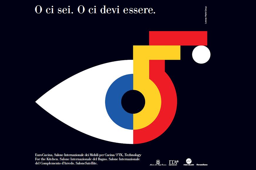 campagna con testo logo