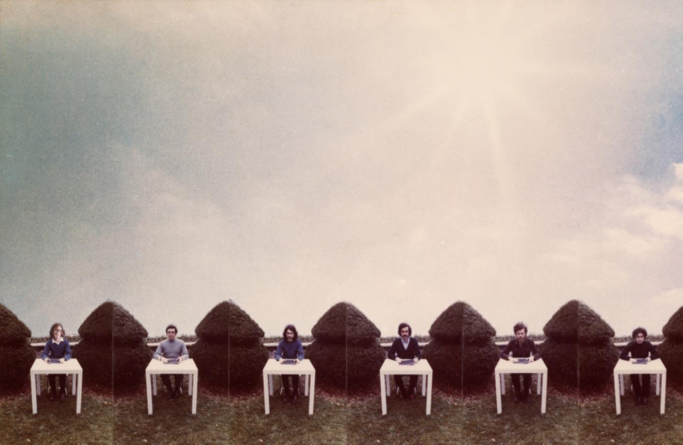 Superstudio, Autoritratto, 1973, collage (foto C. Toraldo di Francia)