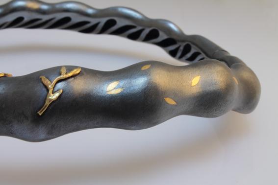 Gian Lorenza di Luisa Bruni Materiali: argento 925, oro 999,99, oro giallo 750