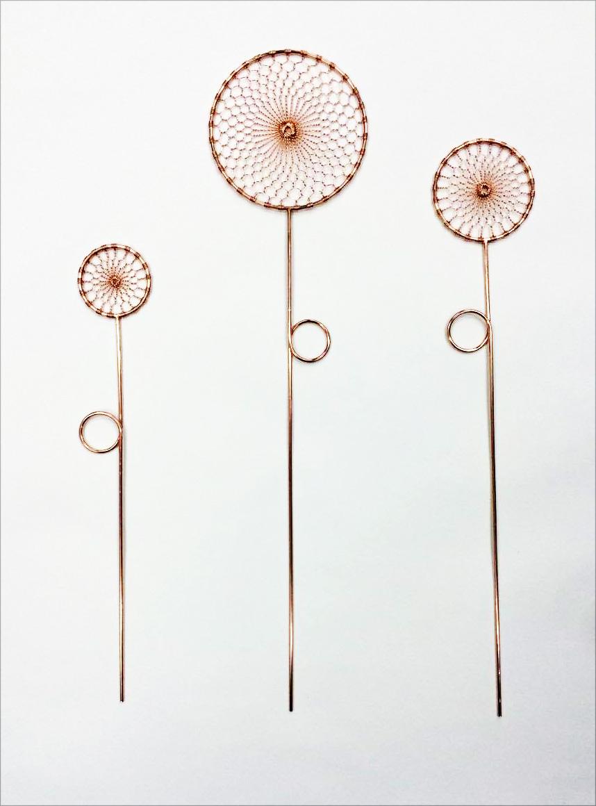 Fiori di filo Realizzato da Kanaami Tsuji per Laudani Romanelli