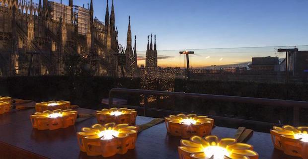 Little Sun, terrazza de la Rinascente, Milano, 2012, foto Marco Beck Peccoz