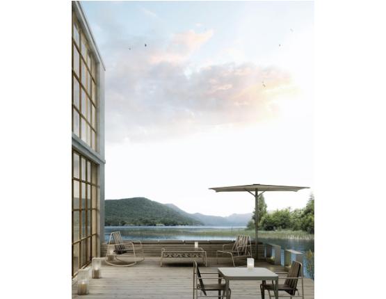 DOZEQUINZE | Sedia a dondolo design by Francesco Sillitti per Gandia Blasco