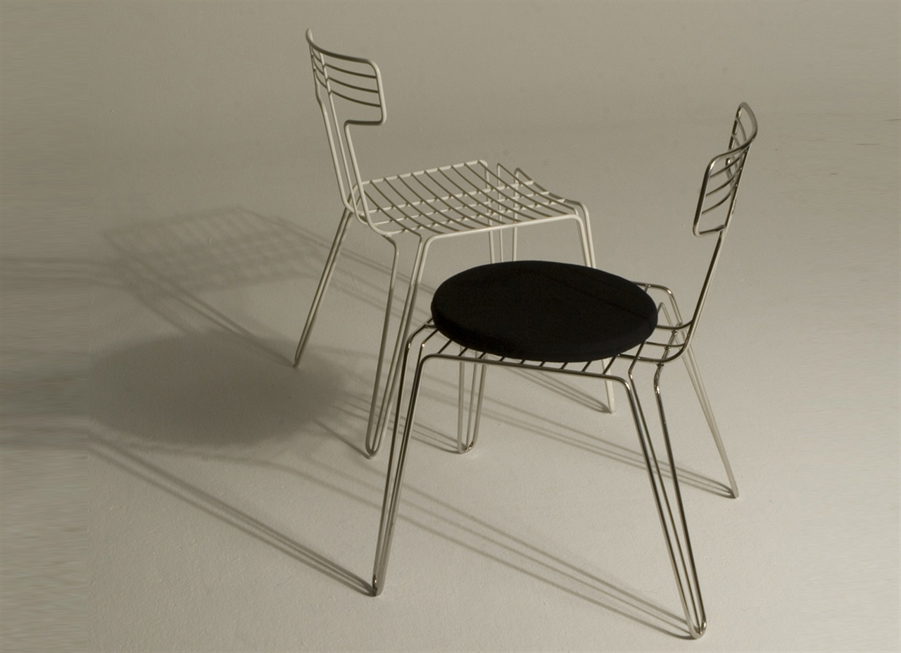 Wire Dining Chair Tom Dixon