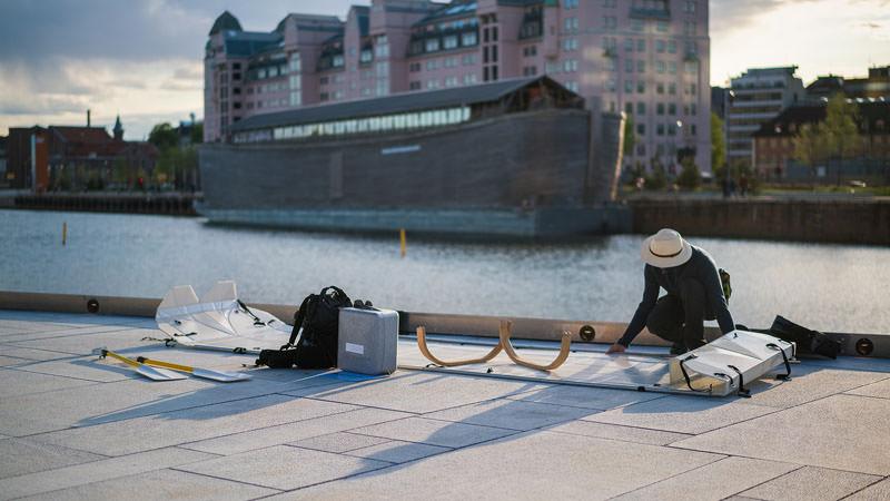 Onak, la canoa smontabile Otto Van De Steene e Thomas Weyn
