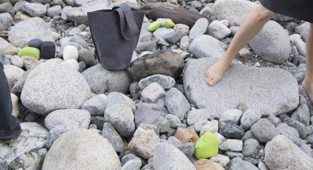 Felt rocks by molo