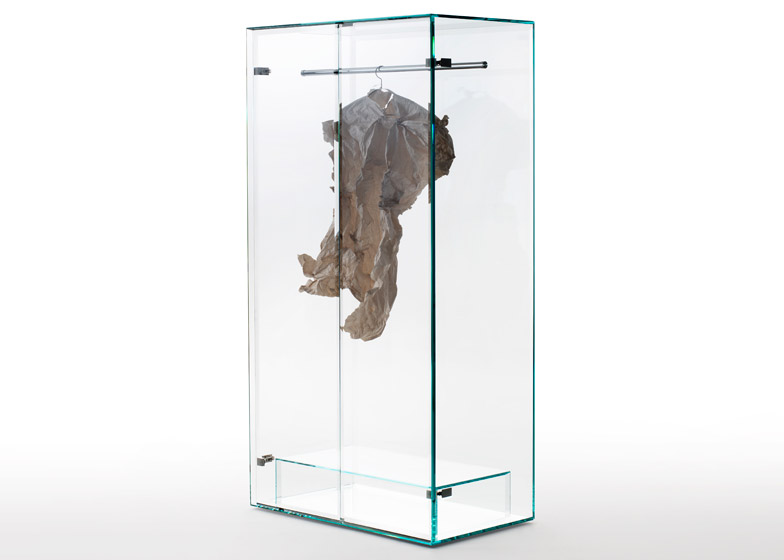 Prism Glass Wardrobe Tokujin Yoshioka per Glas Italia