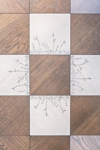 pattern della collezione di parquet prefinito Wood di Kiki Van Eijk