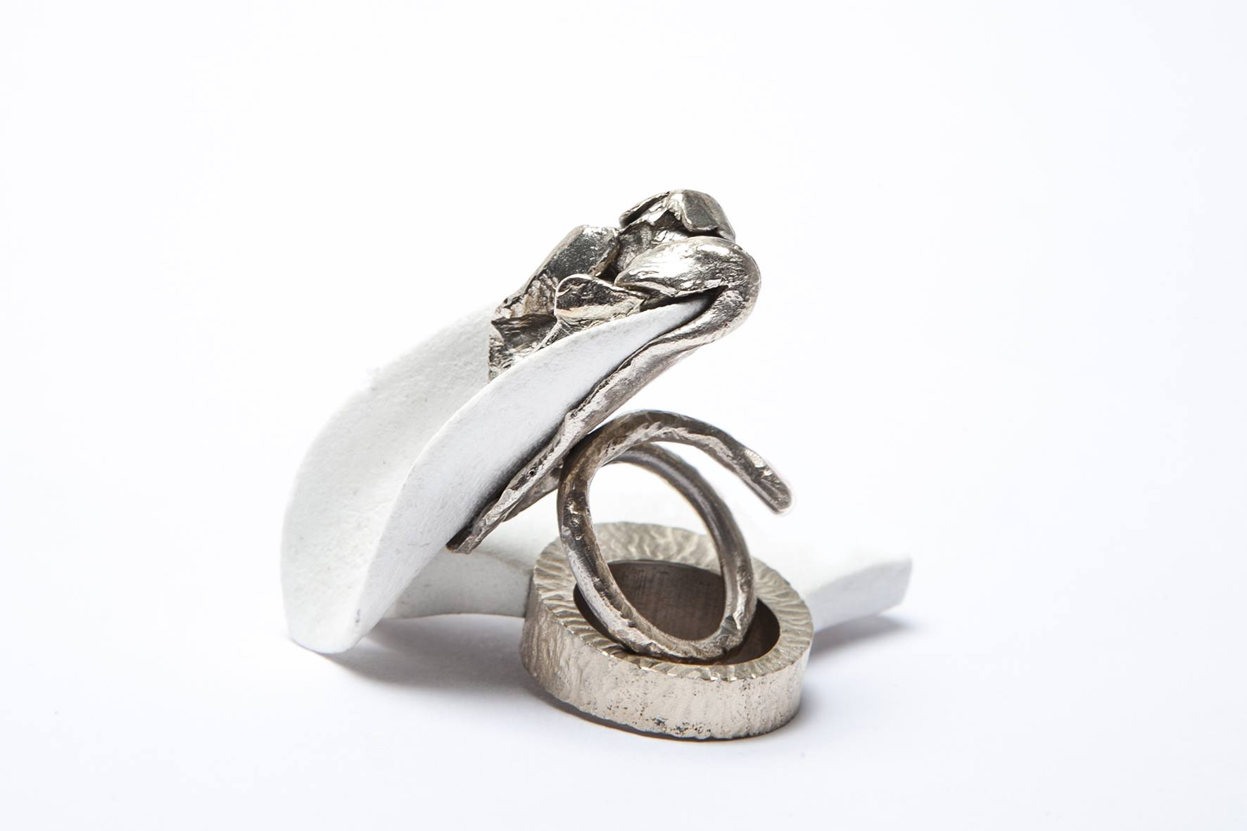 "Francesca Mazzotta ""LYMPH"" ring"