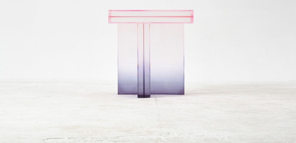 Crystal Table di Saerom Yoon