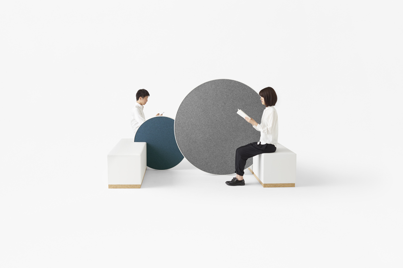 """Rolling workspace"" Nendo per Kokuyo"