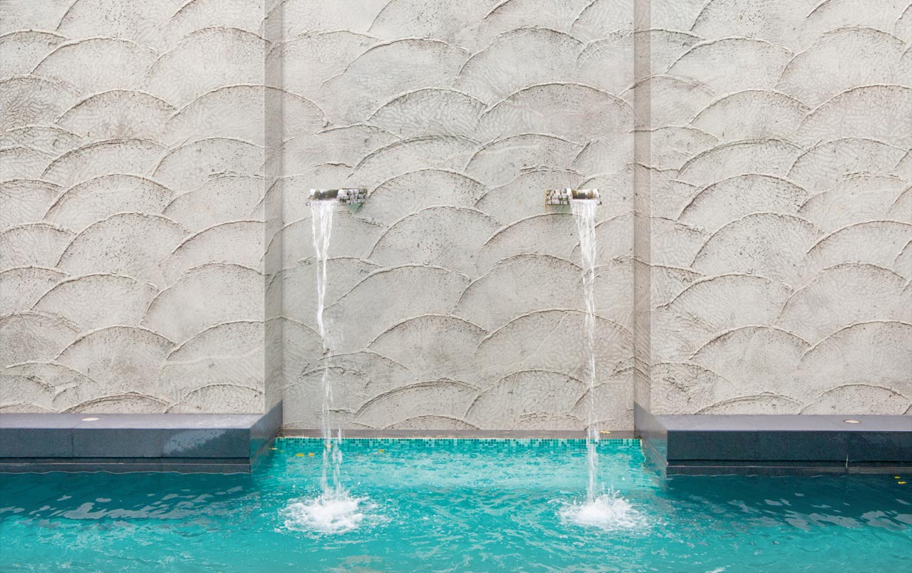 H2o la carta da parati per il bagno arredo e convivio - Carta da parati impermeabile per bagno ...