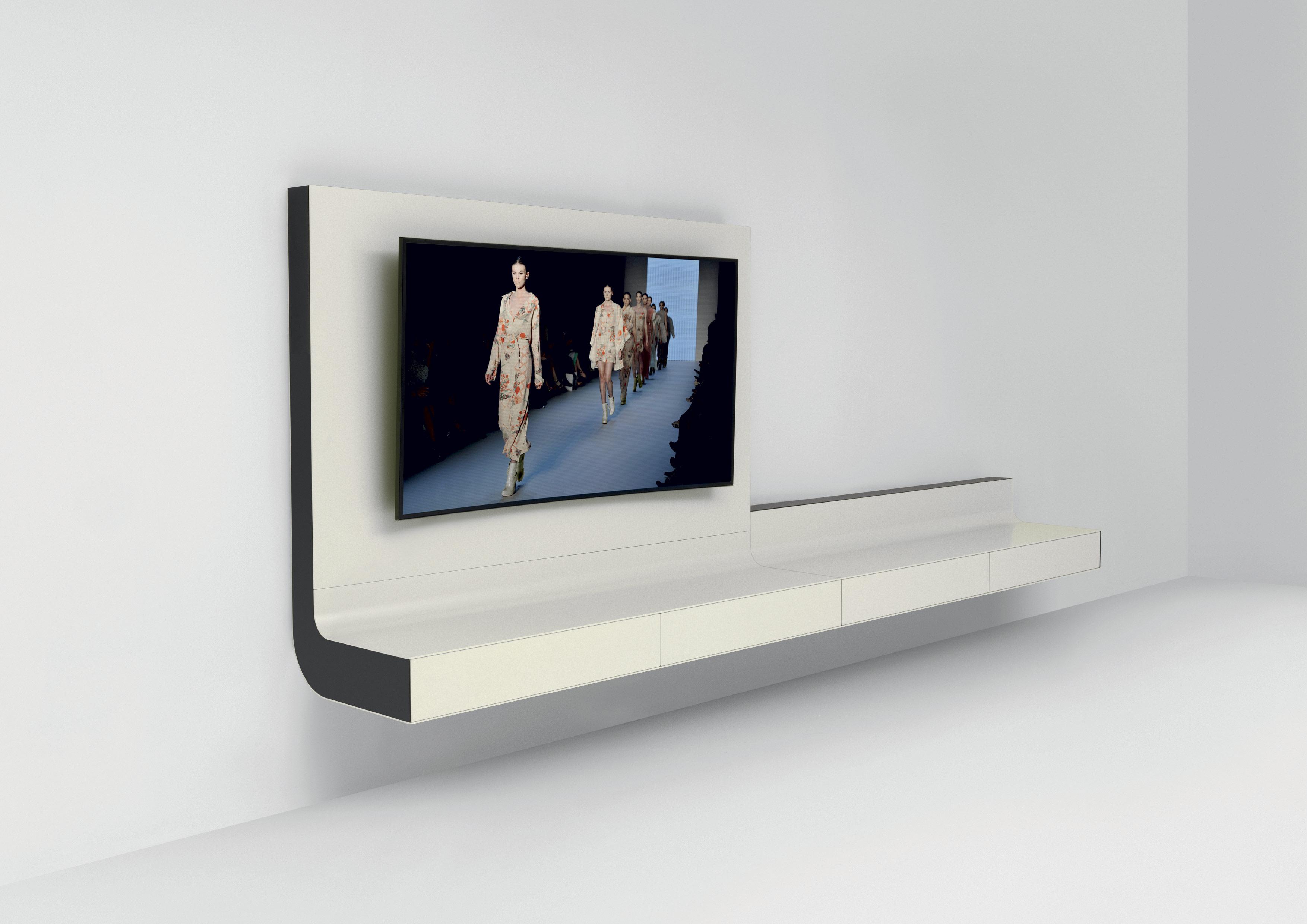 ÈLLE porta tv – design Massimo Cavana | Arredo e Convivio