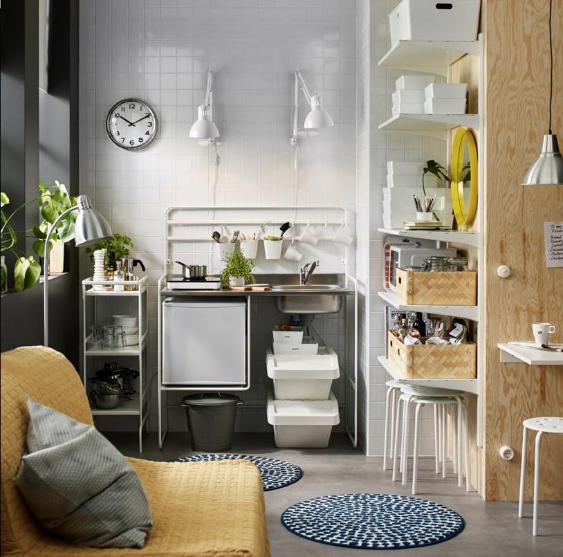 SUNNERSTA – cucina low cost di IKEA con piastra ad induzione ...