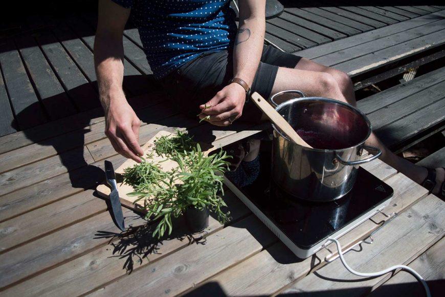 sunnersta cucina low cost di ikea con piastra ad